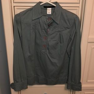 Marc Jacobs light green blouse size 6